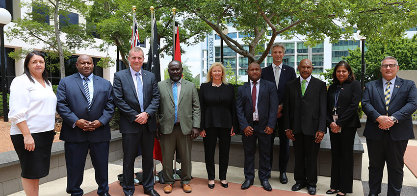 Border security and trade dominate ABF talks with PNG