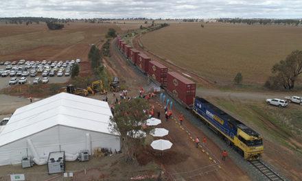 Ground broken for construction of Inland Rail