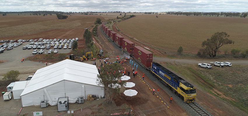 Ground broken for construction of Inland Rail