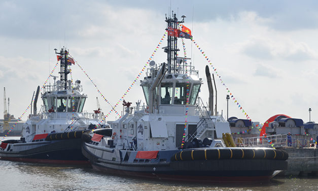 Sharks serve as inspiration for new FMG tugs