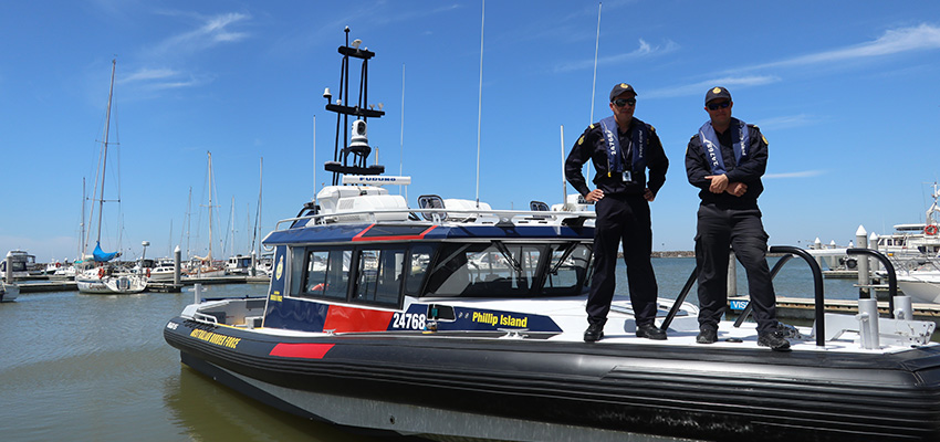 New ABF patrol vessel for VIC