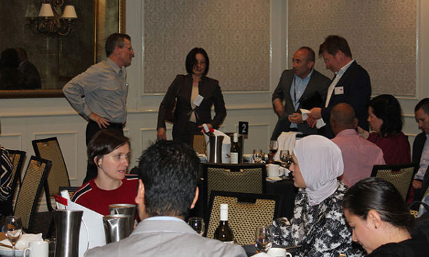 ICHCA gathers for Melbourne lunch