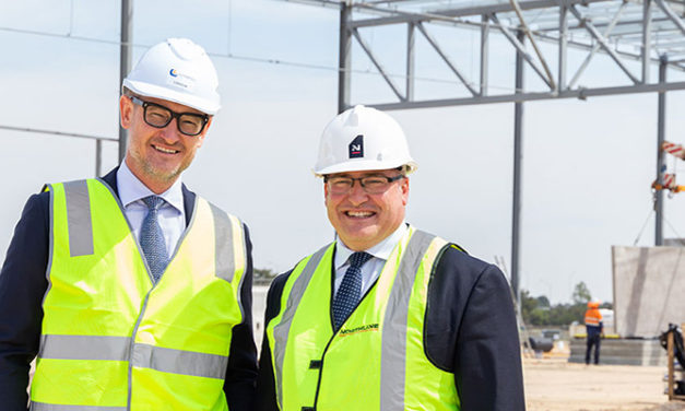 New logistics centre in Perth slated for completion next month