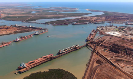 Fortescue records rise in half yearly shipments