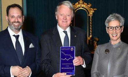 Under keel technology earns export award