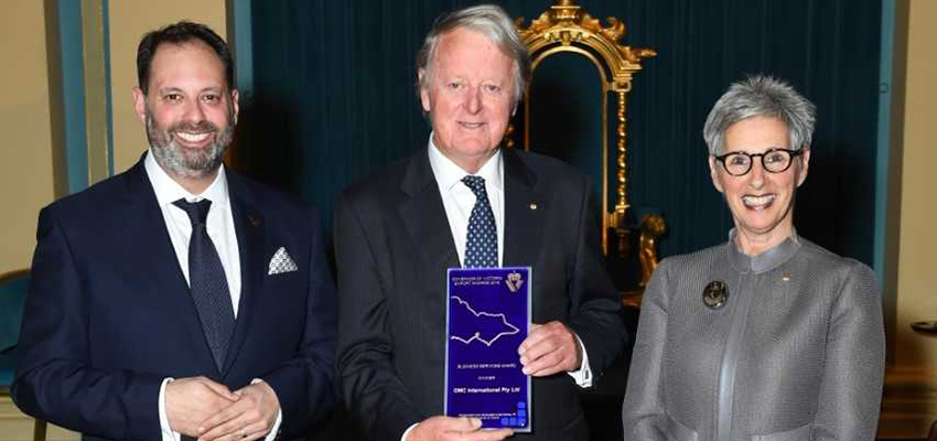 Under keel technology earns export award