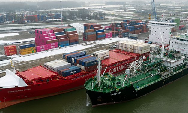First ship-to-ship bunkering operation carried out in Europe