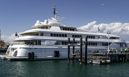 Giant superyacht registered in Cook Islands