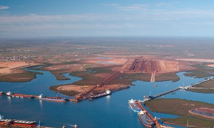 Veronica blamed for lower Pilbara throughput