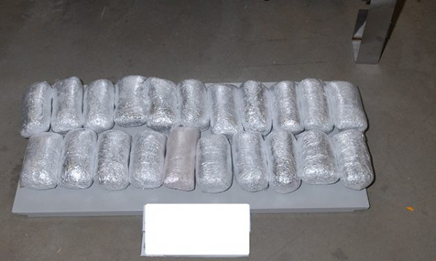 Smuggled meth discovered in oven