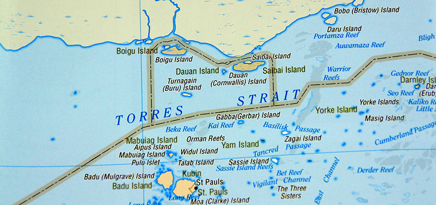 Record reported for Torres Strait transit