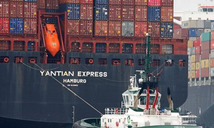 General average declared for Yantian Express