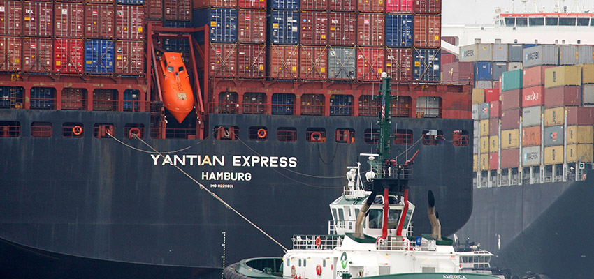 Yantian Express fire contained, says shipping line