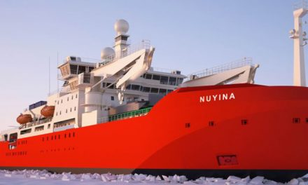 Australia's shiny, new icebreaker to hit Antarctic waters in 2022