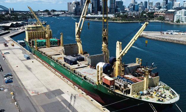 Sydney's White Bay welcomes mega borer Kathleen