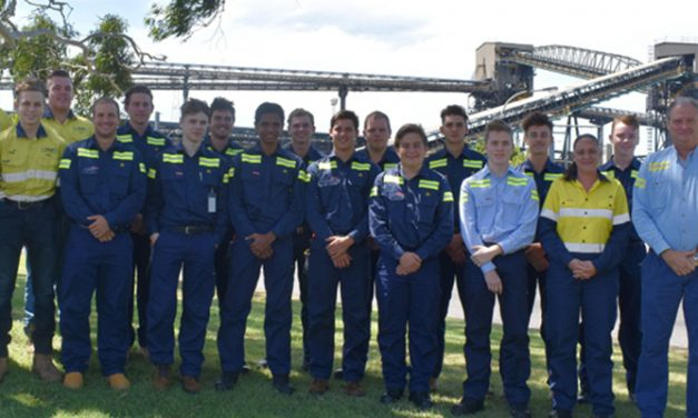 Gladstone welcomes trainees, apprentices