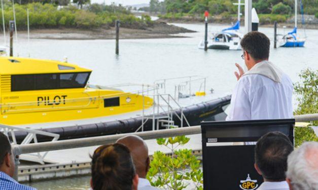 New pilot vessel for Gladstone