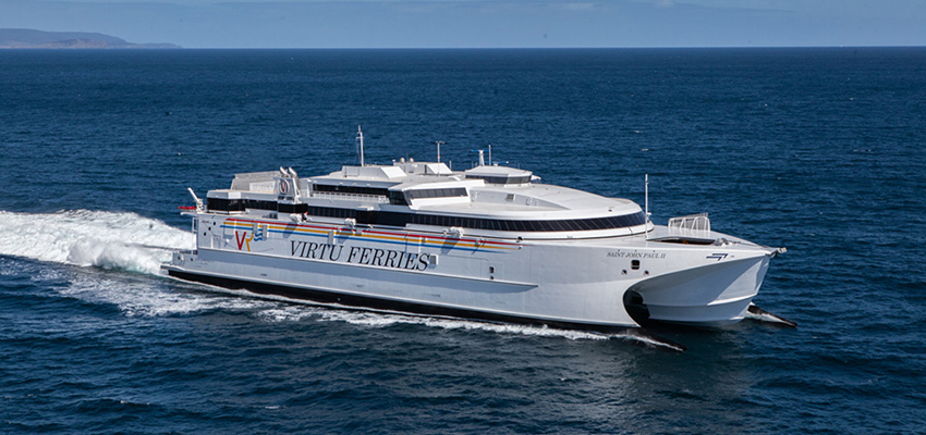 Incat delivers large new fast ferry