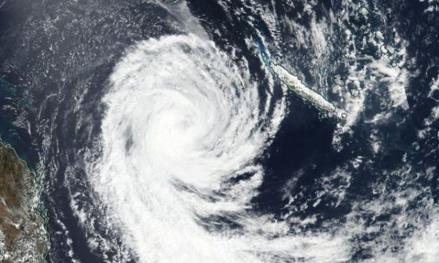 Cyclone Oma takes a breather