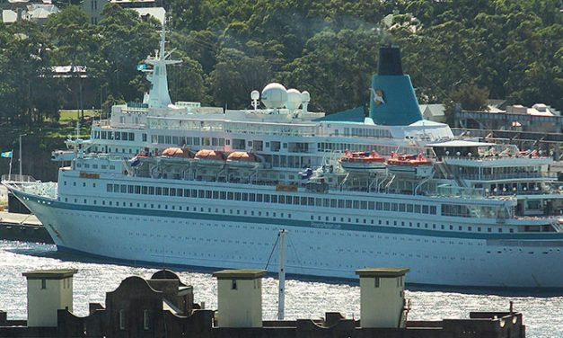 Rough weather diverts cruise ship to Townsville