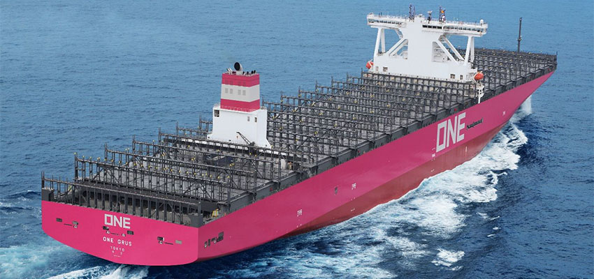 ONE takes delivery of 14,000-TEU ship