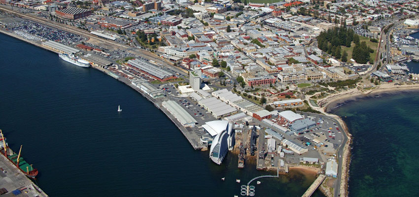 Plans for a waterfront precinct will give Victoria Quay a facelift