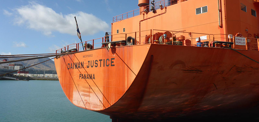 Crew not paid, ship detained