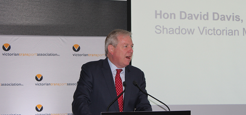 VTA STATE CONFERENCE 2019: Victorian Opposition infrastructure spokesman seeking to moderate port fee hikes