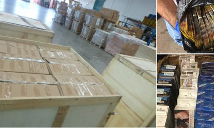Three arrested over tobacco smuggling ring