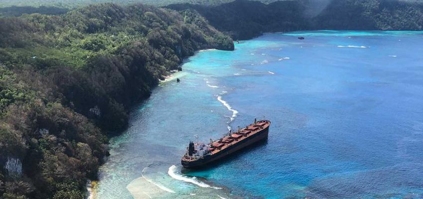 Australians deployed to Solomon Islands ship grounding