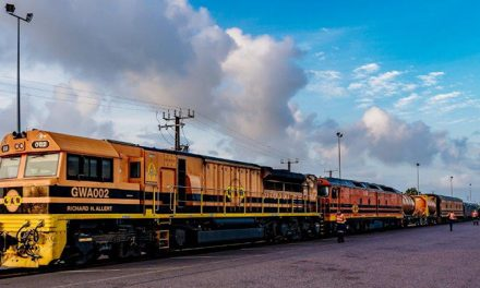 NT-SA train movement on way to Darwin