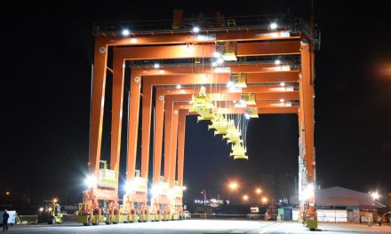 "New ""green"" gantries for Manila container terminal"