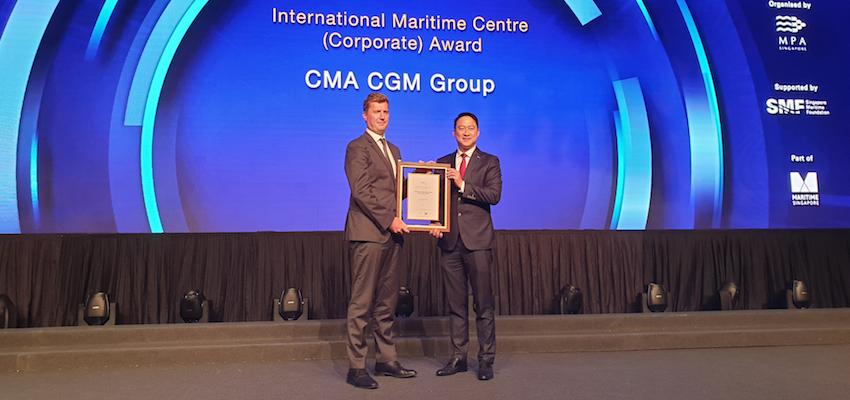 International maritime awards recognise CMA CGM