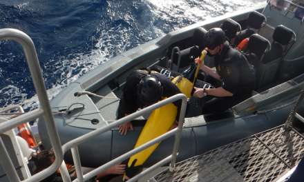 ABF helps recover ocean research glider