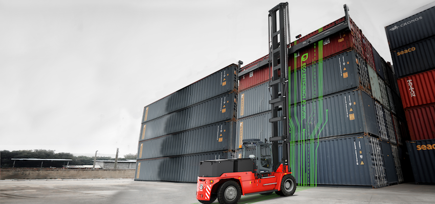 Kalmar continues electrification journey with empty container handler