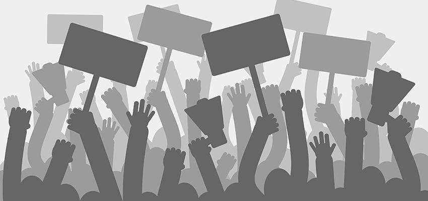 Vegan protests slammed
