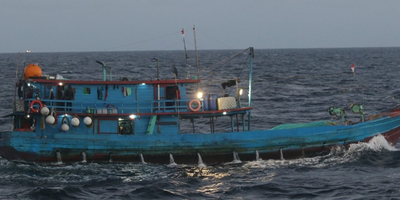 Illegal foreign fishing vessel apprehended north of Gove