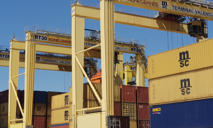 Konecranes installs first RTG busbar retrofit in Spain