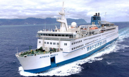 Mercy Ships 100,000th free surgical procedure