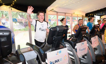 LINX Cargo Care Group hits the treadmills for charity