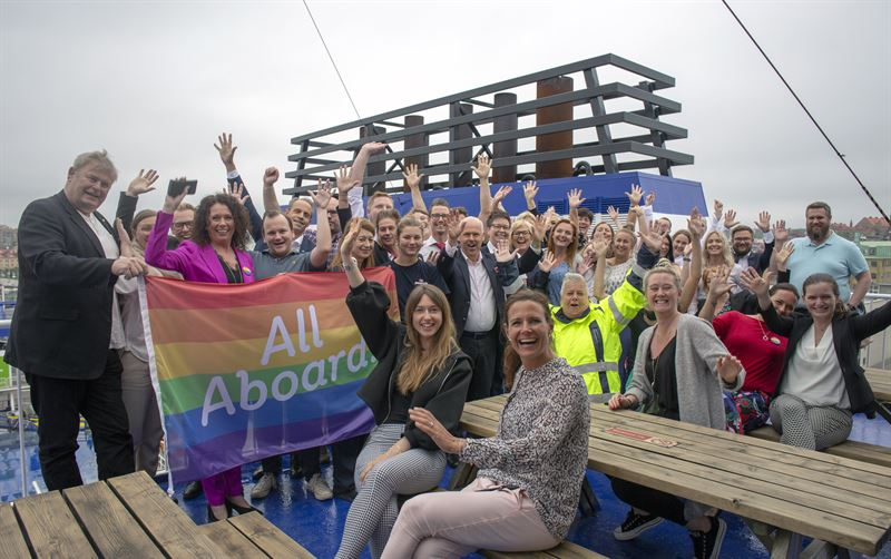 Stena to fly rainbow flag all over Europe