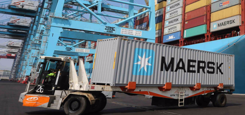 Maersk invests in smart container solution