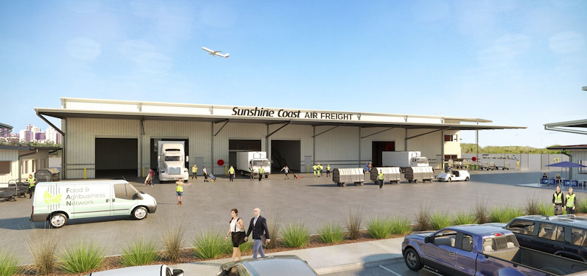 Longer runway and freight centre to boost Sunshine Coast exports