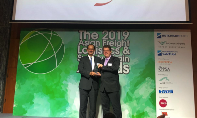 CMA CGM awarded at Asian logistics awards