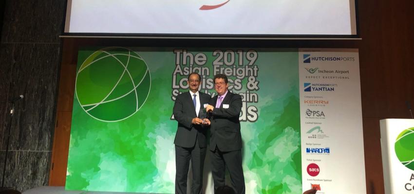 CMA CGM awarded at Asian logistics awards