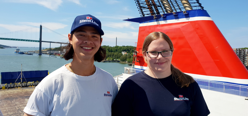 Stena Line's able seamen volunteer for Mercy Ships