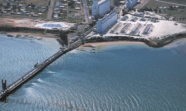 Restoration works start on South Australia regional port