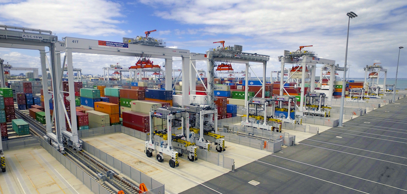 Report examines semi and fully automated ports