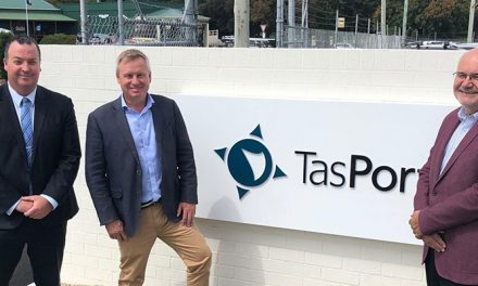 New CEO takes the helm at TasPorts