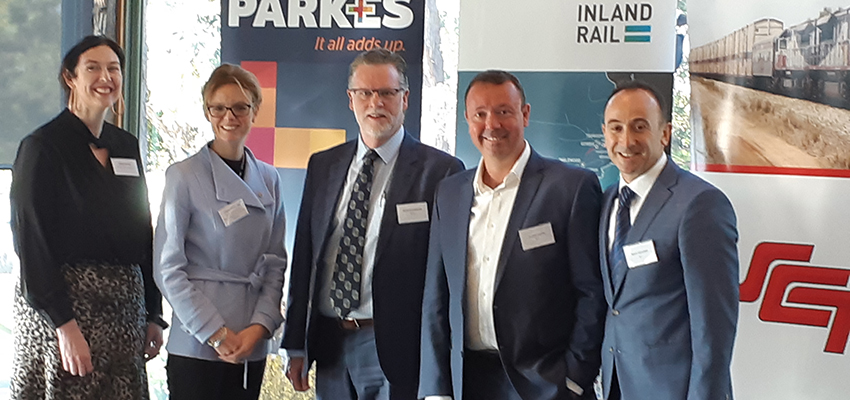 Inland Rail and Parkes the focus of Sydney breakfast